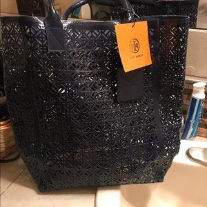 Tory Burch Bags - 2 bags tory burch plastic shopper bag